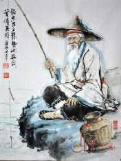 Un pêcheur patient